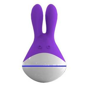 Stimulateur rechargeable mauve Totoro 10 vitesses