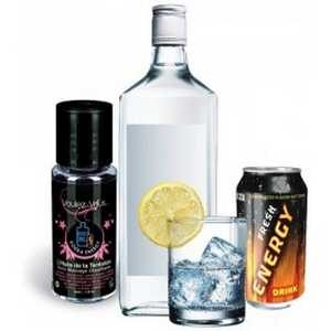 Huile de la tentation vodka energy 30 ml
