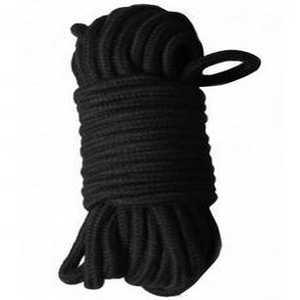 Corde de bondage noir
