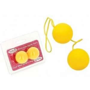 Boules de Geisha Spoody Néon jaune