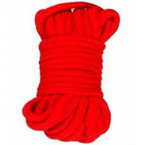 Corde de bondage rouge