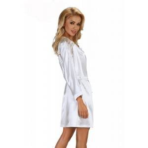 Alexandra dressing gown white