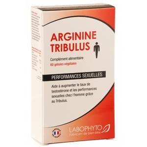 Arginine - Tribulus 60 gélules