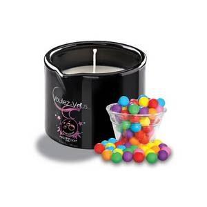Bougie de massage gourmande Bubble Gum 180 gr