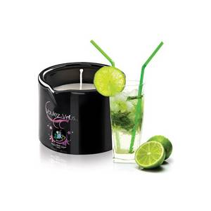 Bougie de massage gourmande Mojito 180 gr