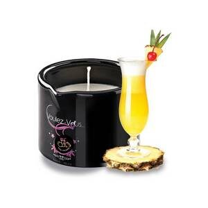 Bougie de massage gourmande Pina Colada 180 gr