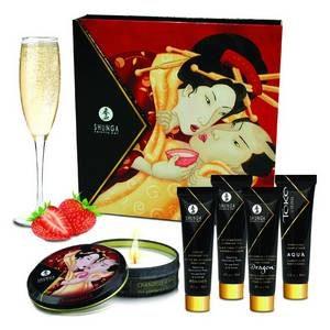 Kit Secret de Geisha Vin Pétillant Fraise