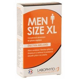 MenSize XL Erection Améliorée 60 gélules