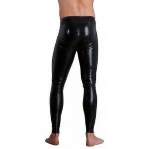 Pantalon en Latex avec Gaine pour Pénis