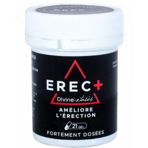 Stimulant pour Homme Erec + – 21 gélules