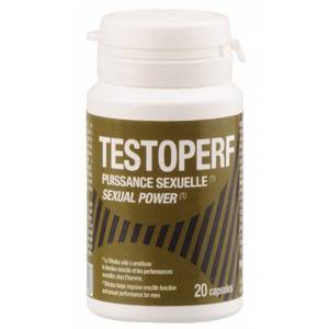 TestoPerf Puissance Sexuelle 20 capsules