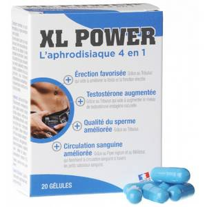 XL Power Erection 20 gélules