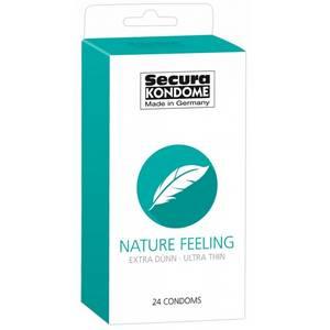 24 Préservatifs Extra Fin Nature Feeling
