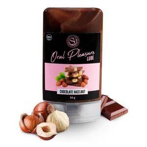 Lubrifiant Comestible Oral Pleasure Saveur Chocolat Noisette 34 gr