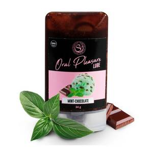 Lubrifiant Comestible Oral Pleasure Saveur Menthe Chocolat 34 gr